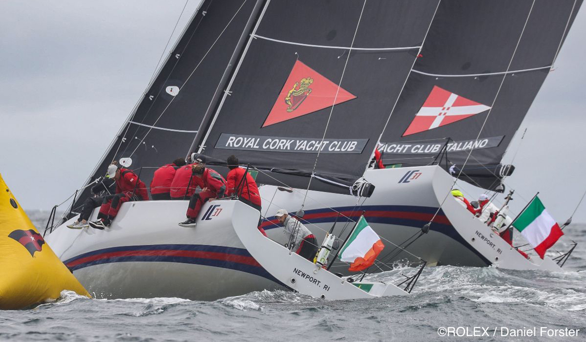 Royally Strong Performance for Australian, Irish and Canadian Teams on Day 3 of Rolex NYYC Invitational Cup