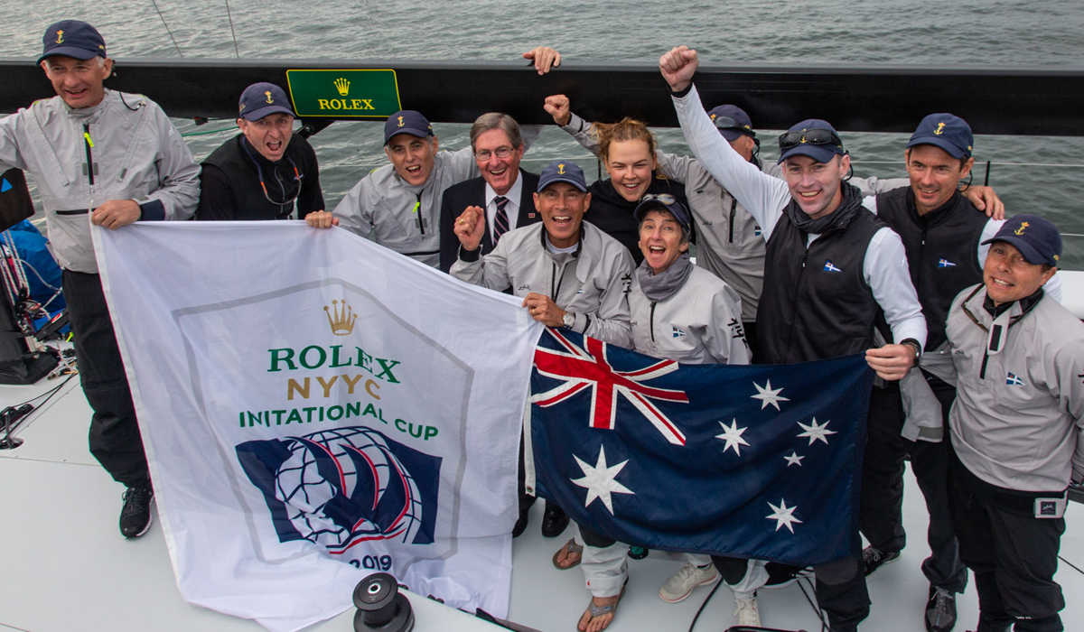 Royal Sydney Shines on Challenging Final Day and Takes the Rolex New York Yacht Club Invitational Cup Down Under